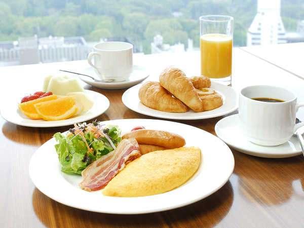 小田急ホテルセンチュリーサザンタワー ■朝食イメージご朝食は20Fレストラン「トライベックス」にて