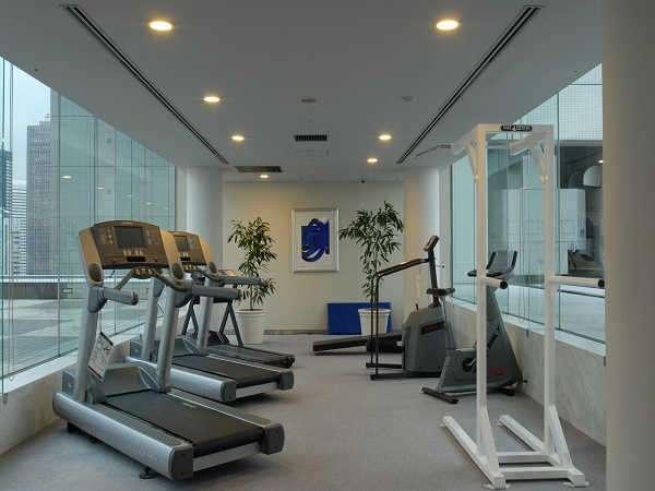 小田急ホテルセンチュリーサザンタワー 21階 宿泊者限定「フィットネスコーナー」