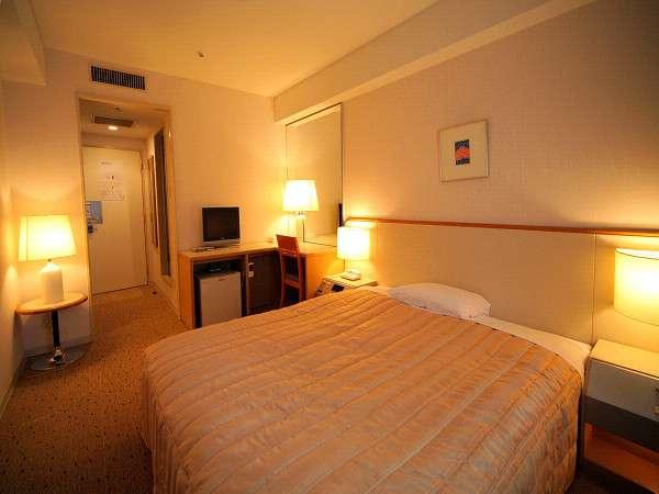 新宿ワシントンホテル新館 ゆったりベッドで疲れた身体を癒しましょう♪(一例)