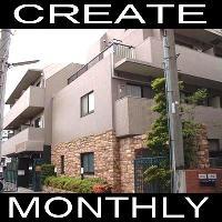 【CREATE】マンスリー市ヶ谷 1K★ネット・地デジ対応・オートロック★