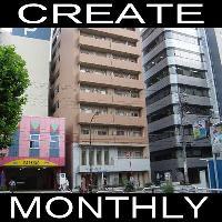 【CREATE】マンスリー大井町2 1K★ネット・地デジ対応・オートロック★