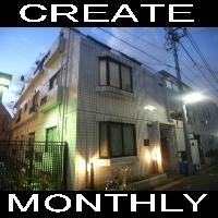 【CREATE】マンスリー中野坂上 1K☆ネット接続無料・除湿機設置☆