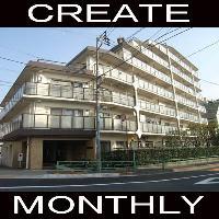 【CREATE】マンスリー中野富士見町 1R☆ネット・地デジ対応☆